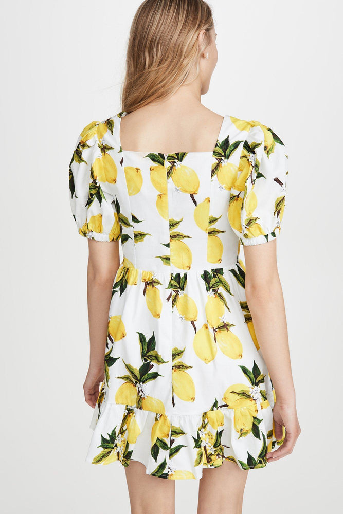 CLOTHING - Lemon Print Mini Dress