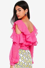 CLOTHING - Lovesick Cold-Shoulder Top