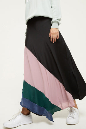 Forward Slash Midi Skirt