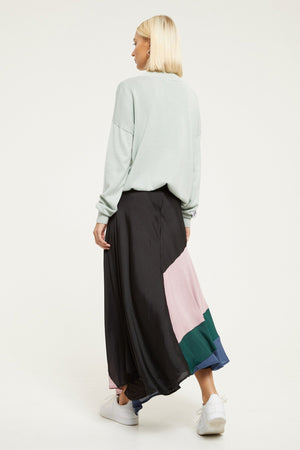 Load image into Gallery viewer, Forward Slash Midi Skirt