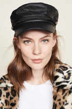 ACCESSORIES - Leather Emmy Cap