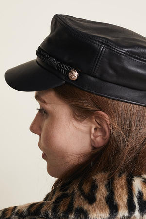 Leather Emmy cap