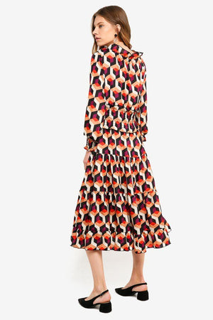 Load image into Gallery viewer, Violinda Midi Dress