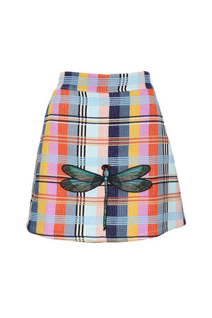 Load image into Gallery viewer, Dragonfly Tweed Skirt