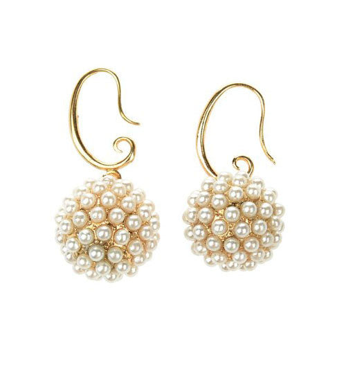 Spherical Drop Earrings