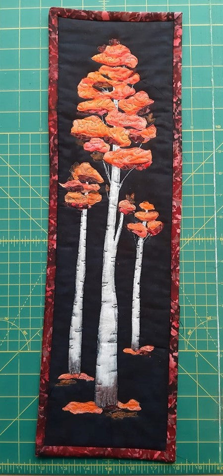 Silver Birch Wallhanging