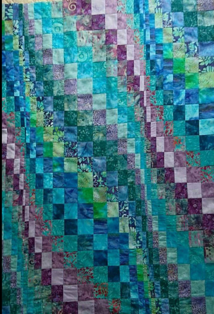 Beautiful Batik Bargello kit