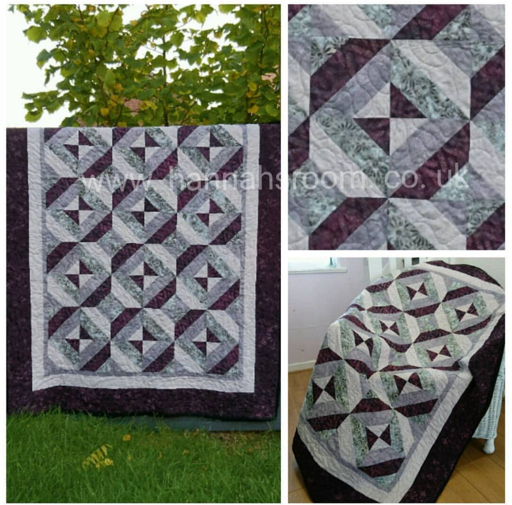 Lovely Illusions Quilt PATTERN ONLY
