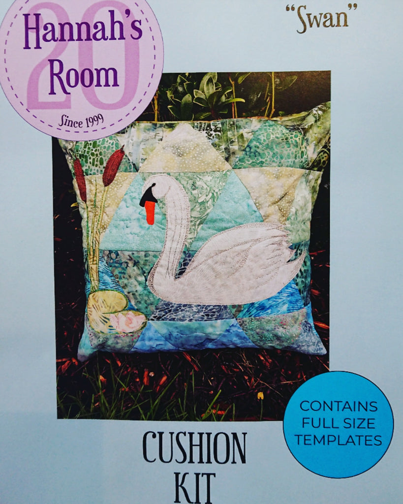 Riverside Collection Swan Cushion Kit or Pattern Only