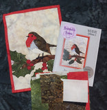 Mr Robin Journal Quilt Kit or Pattern