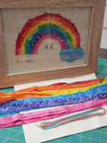 Rainbow Slow Stitch Kit and pattern