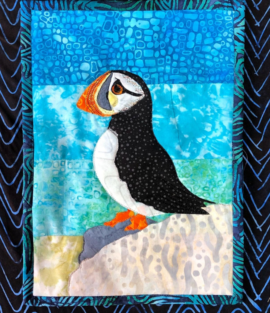 Puffin Journal Quilt Kit