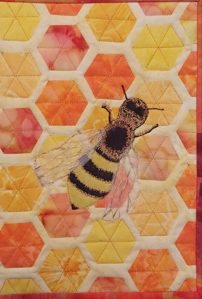 Bee Journal Quilt Kit or Pattern