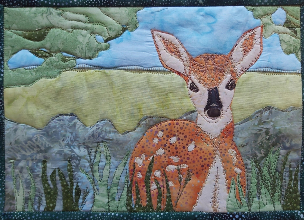 The Fawn Journal Quilt Kit or Pattern