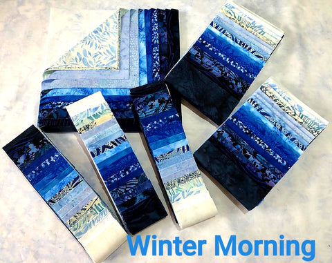 "Winter Morning 5"" Charm Pack"