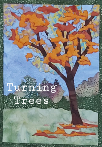 Turning Trees Journal Quilt Kit or Pattern