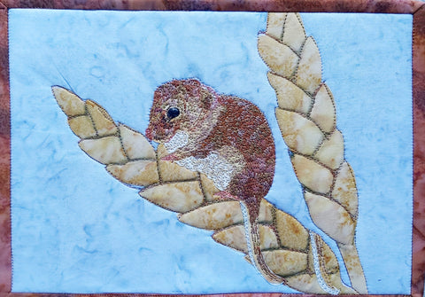 Harvey the Mouse Journal Quilt Kit or Pattern