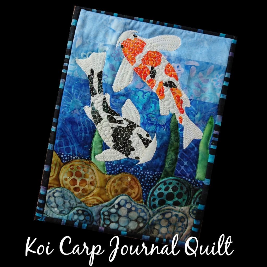 Riverside Collection Koi Journal Quilt Kit