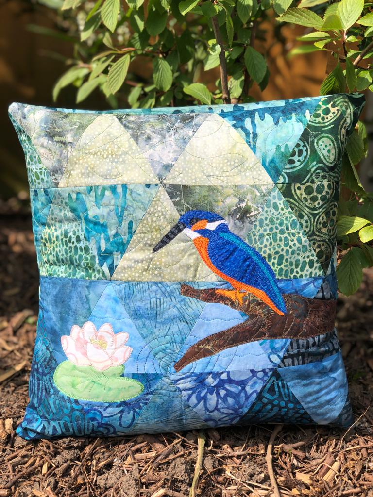 Riverside Collection Kingfisher Cushion Kit