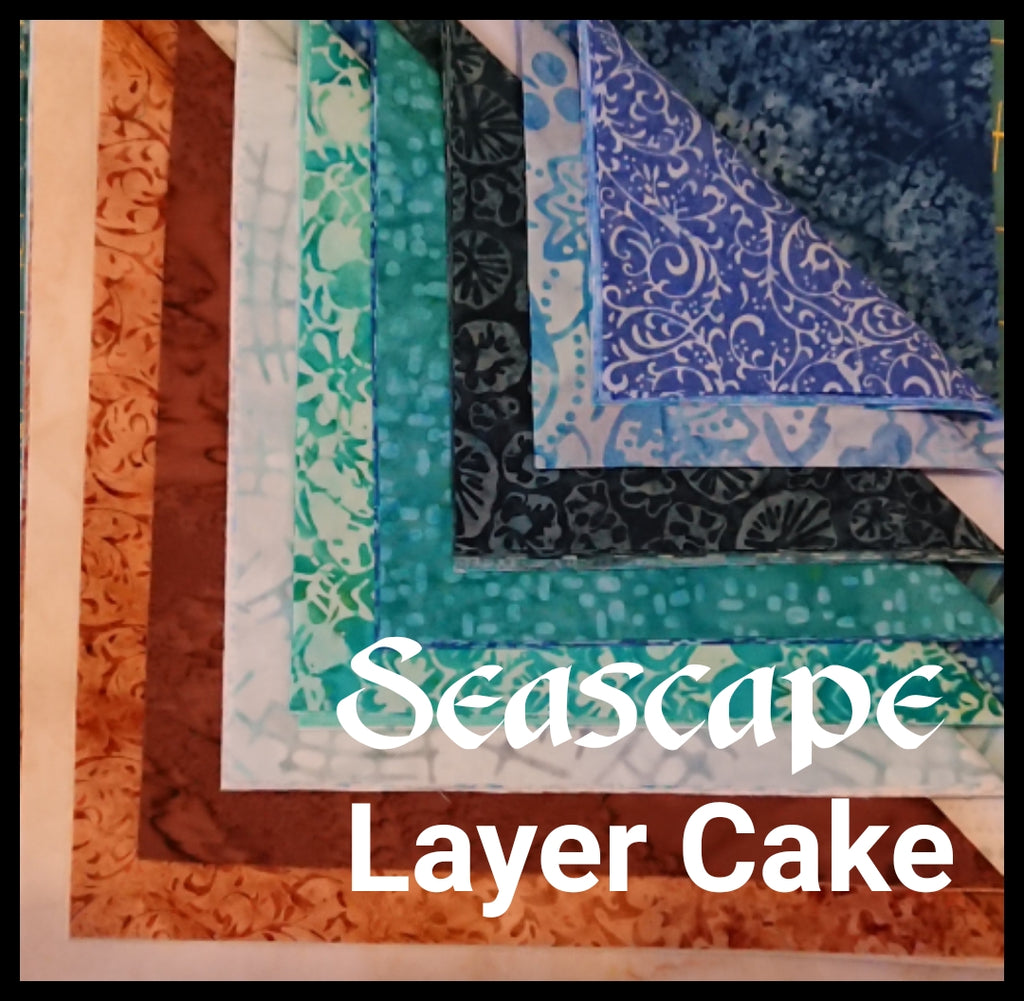 "Seascape 10"" Layer Cake"