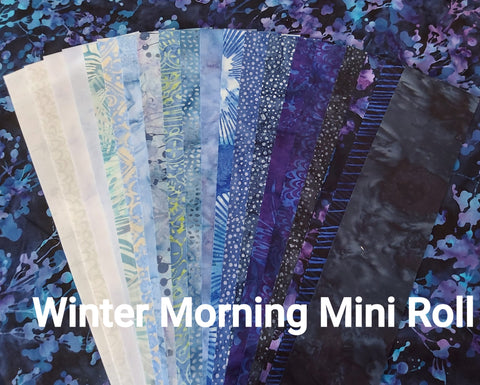 "Winter Morning 2.5""  x WOF Mini Roll"