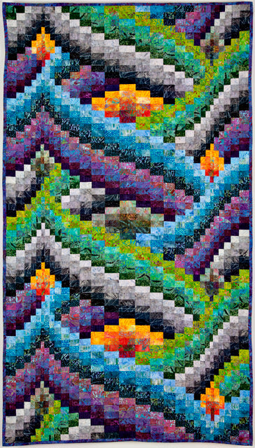 Jan Hassard's curved Bargello Fabric Pack