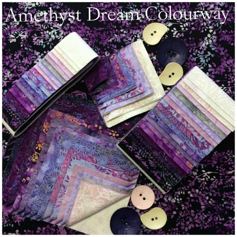 "Amethyst Dream 2.5""  x WOF Mini Roll"