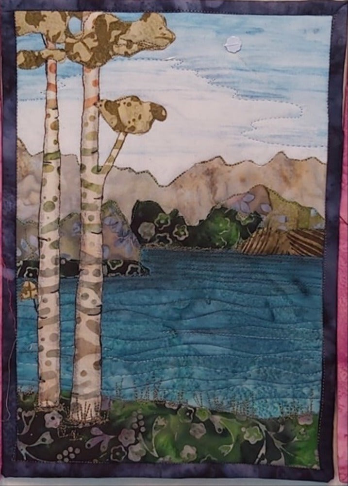 Lakeside Journal Quilt Kit or Pattern