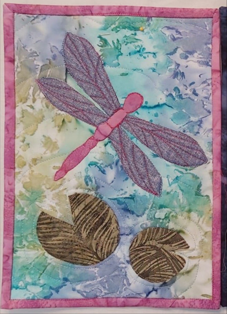 Dragonfly Journal Quilt Kit or Pattern