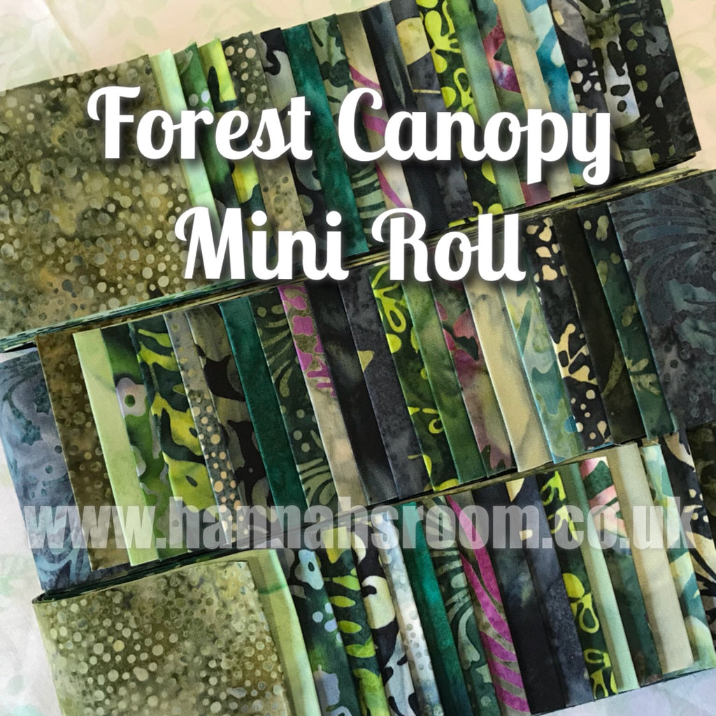 "Forest Canopy 2.5"" x WOF Mini Roll"