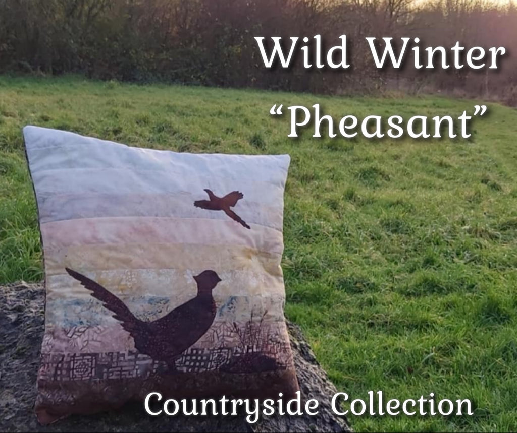 "Wild Winter ""Pheasant"" Cushion Kit or Pattern"