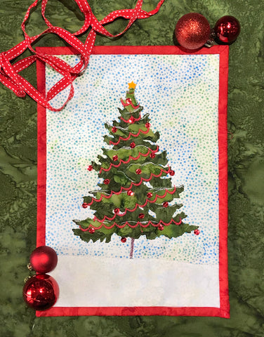 Christmas Tree Journal Quilt Kit