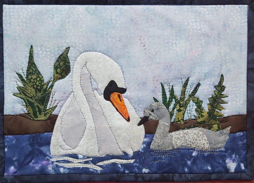 Swan Lake Journal Quilt Kit or Pattern