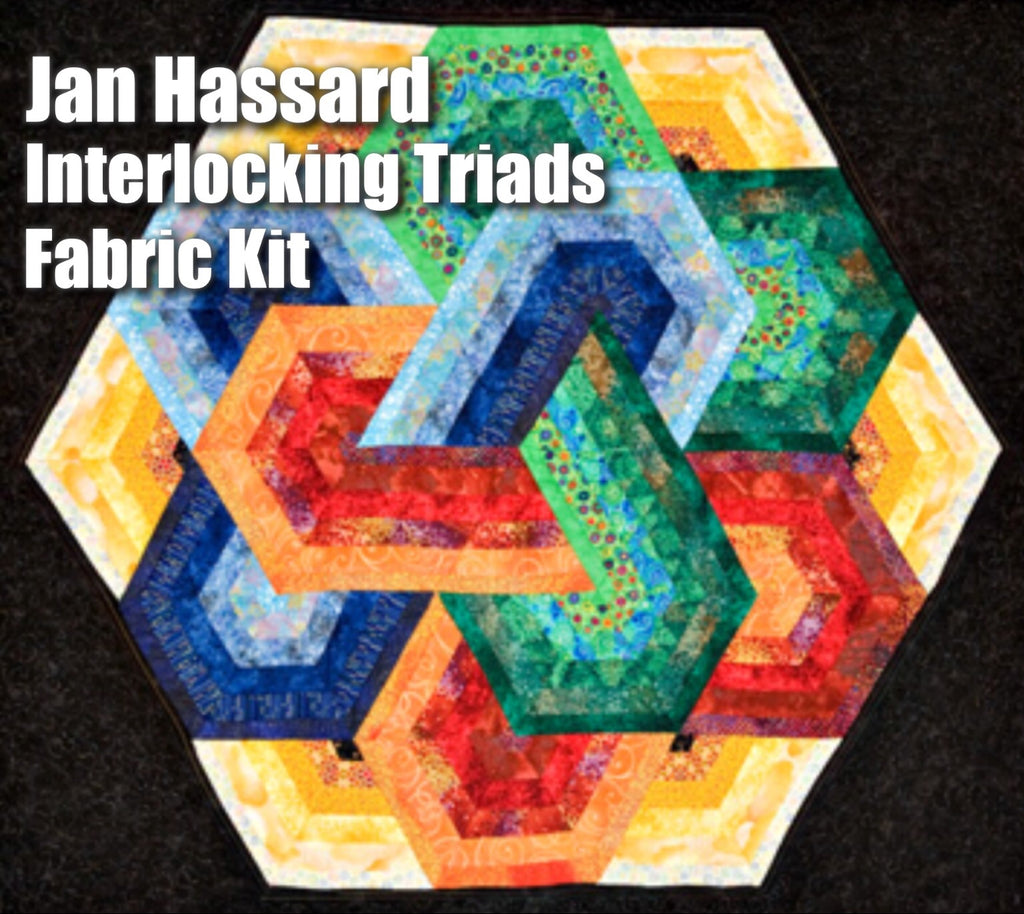 Jan Hassard's Interlocking Triads Fabric Pack