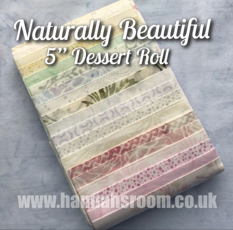"Naturally Beautiful 5"" x WOF Dessert Roll"