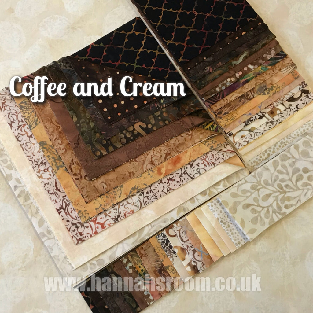 "Coffee and Cream 2.5""  x WOF Mini Roll"