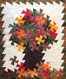 Autumn with a Twist Quilt Kit with ACRYLIC TEMPLATE INCLUDED