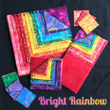 "Bright Rainbow 10"" X 5"" Bali Bar"