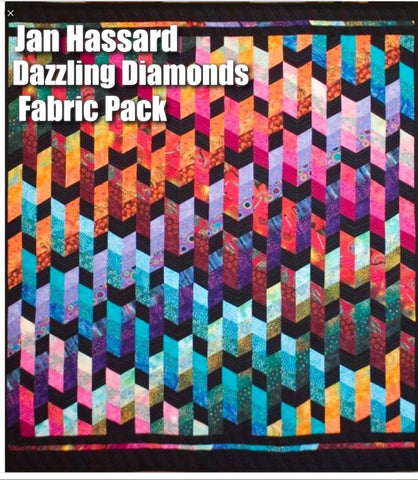 Jan Hassard's Dazzling Diamonds Fabric Pack