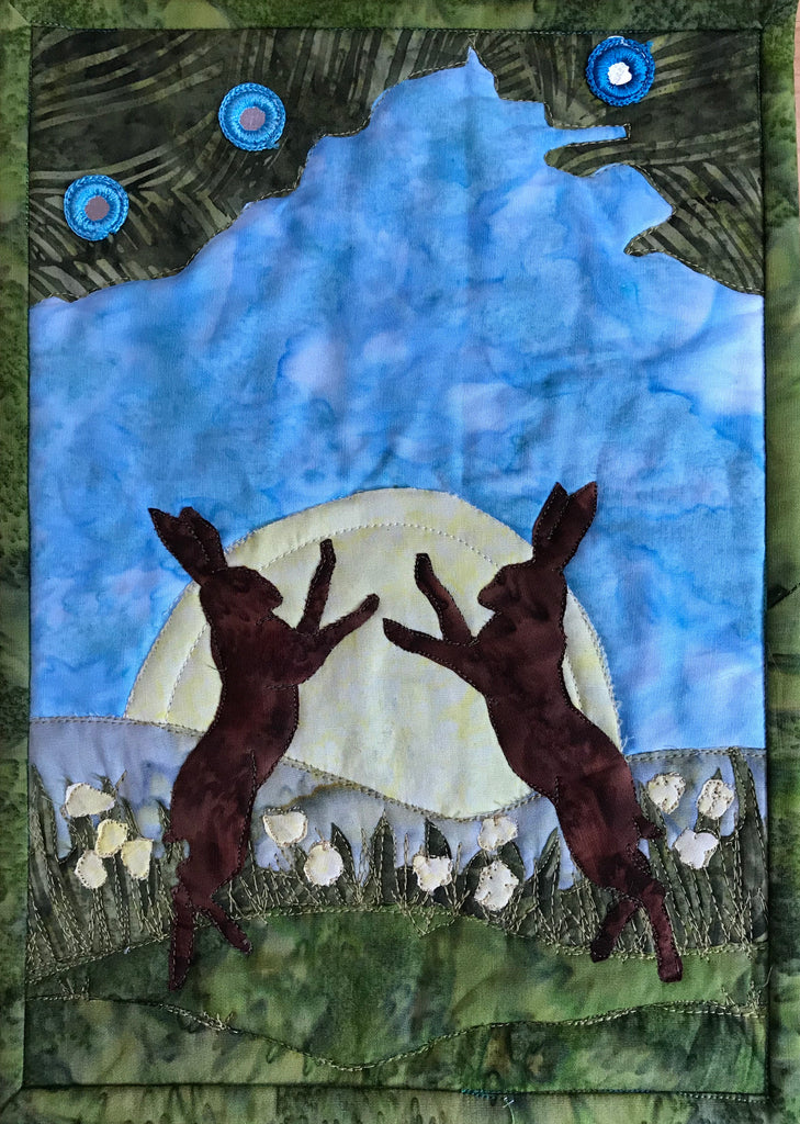 Spring Hares Journal Quilt Kit