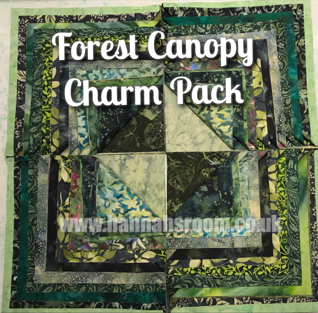 Forest Canopy 5inch charm pack
