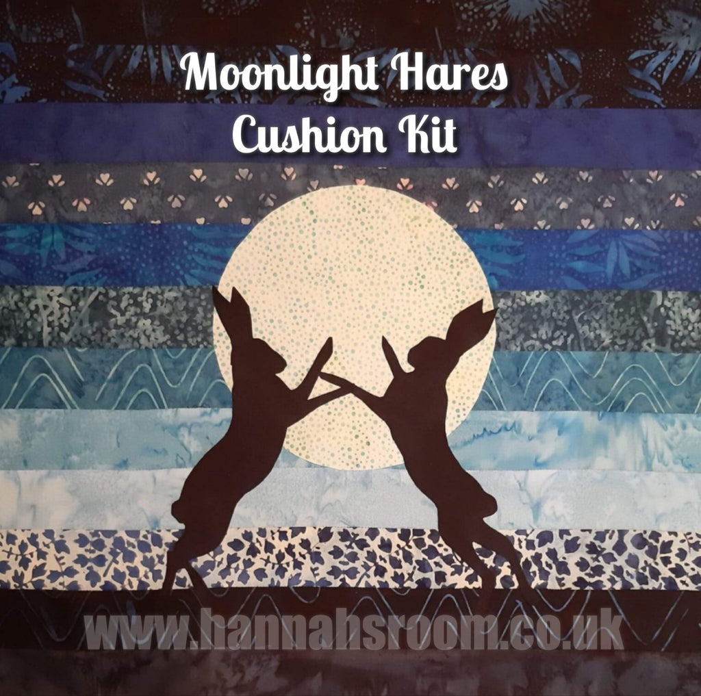 Moonlight Hares Cushion Kit limited edition