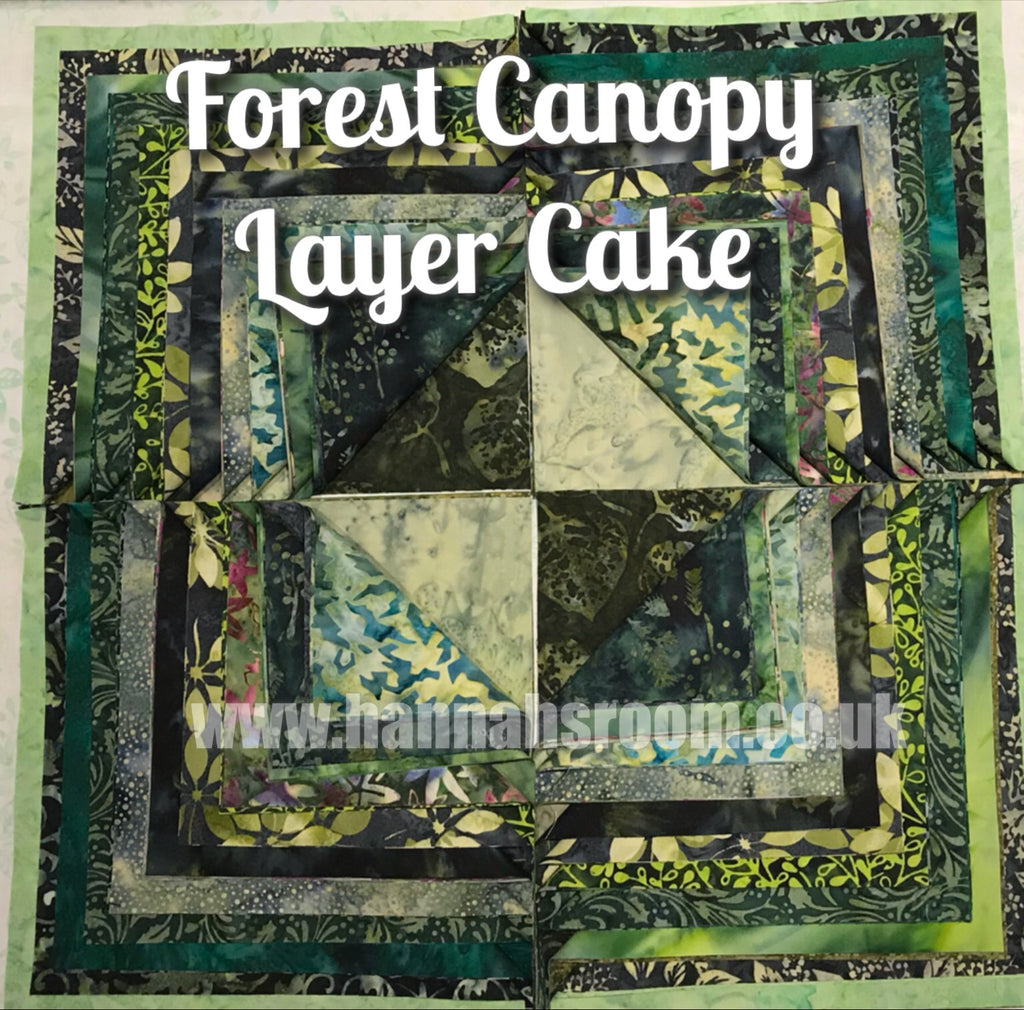 "Forest Canopy 10"" Layer Cake"