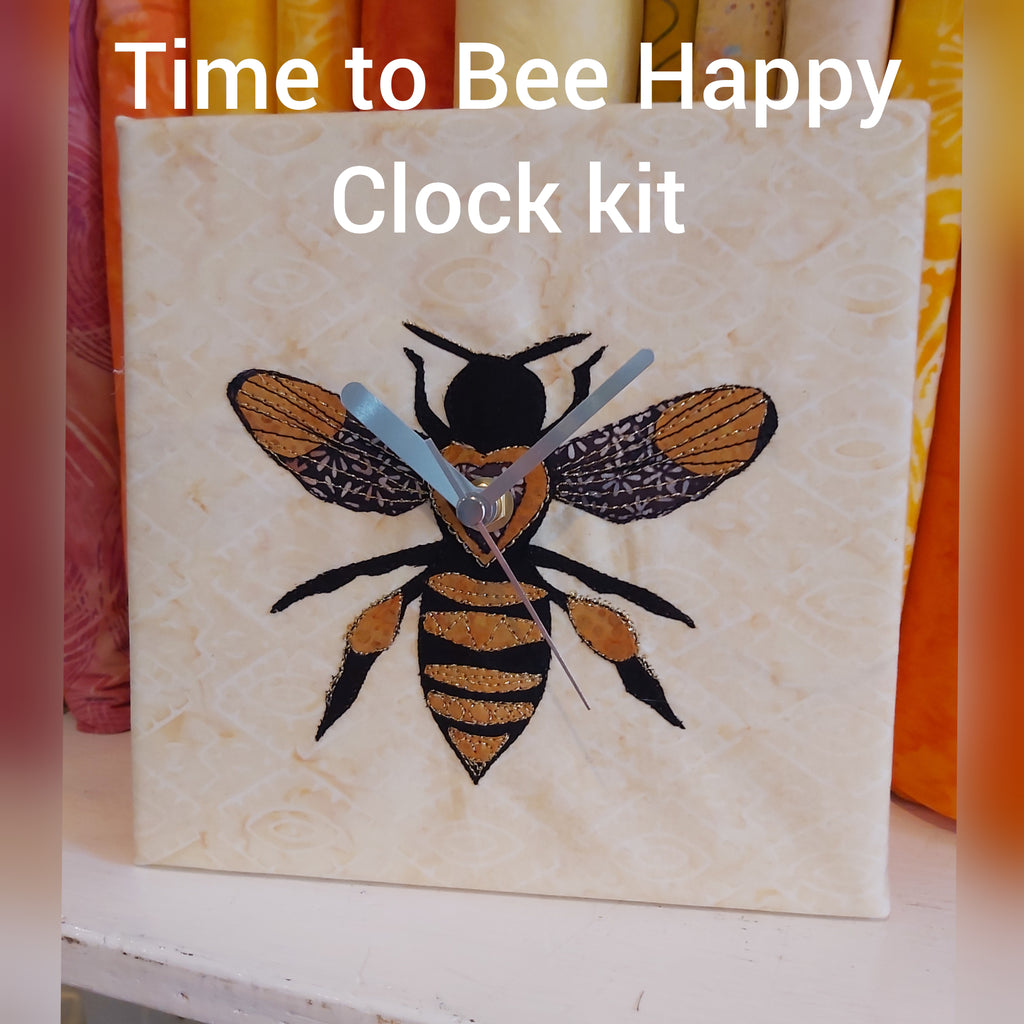 Time to Bee Happy Clock Kit