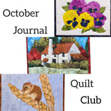 Hannah's Room Journal Quilt Club