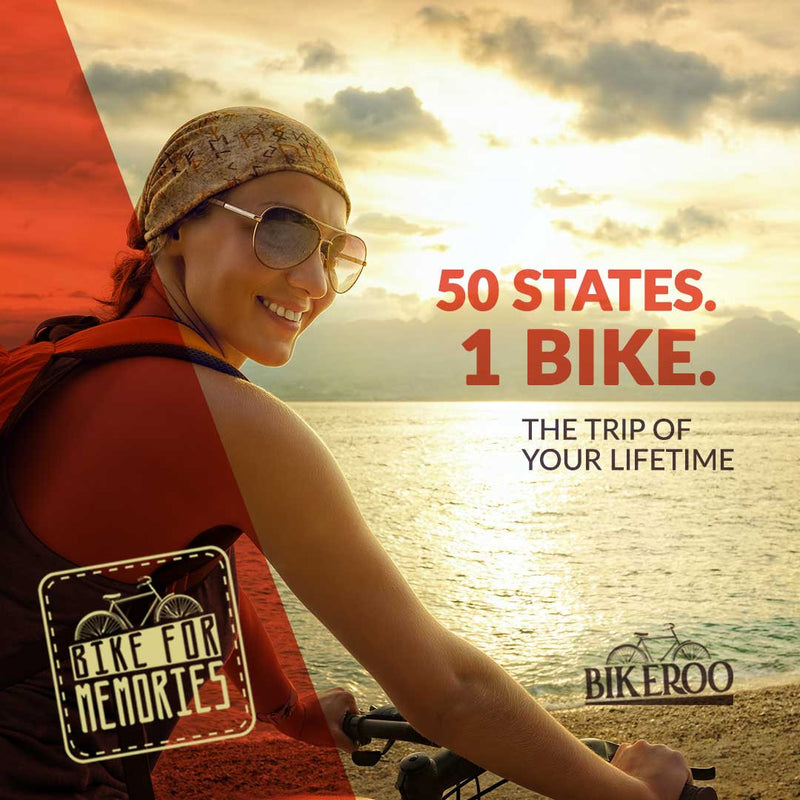 50 STATES. 1 BIKE. The trip of your lifetime.