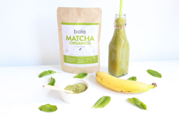 VIDEO RECETA: MATCHA GREEN SMOOTHIE