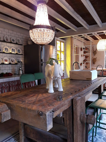 cocina rustica casa decor angelina purpurina