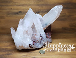 Clear Quartz Cluster with Points
