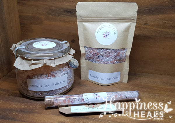 Lavender Peace Bath Salts -Inspired by Evie
